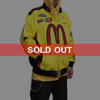 "【DEAD STOCK】NASCAR RACING JACKET ""MCDONALD'S"""