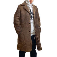 【USED】80'S BAILY'S GLASTONBURY SHEEPSKIN COAT