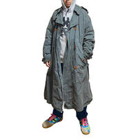【USED】90'S  C.P.COMPANY WAXED LONG COAT