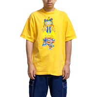 【USED】90'S-00'S WORLD INDUSTRIES FLAME BOY & WET WILLY T-SHIRT