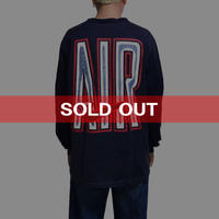 """【USED】90'S NIKE """"AIR"""" L/S T-SHIRT"""