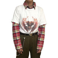 【USED】90'S HARLEY DAVIDSON T-SHIRT WHITE