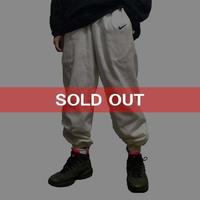【USED】90'S NIKE TRACK PANTS WHITE