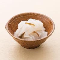 甘酢ちぢみ®こんにゃく (きゅうり・わかめ・たこなどと和えても。開封後そのまま食べれます)                                  規格:250g(固形70g)1袋