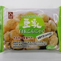 豆乳白玉こんにゃく きな粉・黒糖蜜付             (水洗いで食べれます)規格:120g 1袋