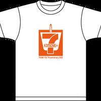 7周年記念Tシャツ