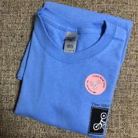 Three mile cycle /  Members Tee  / Blue
