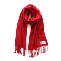 Smuggling cashmere scarf / Red