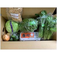 【季節の野菜セット】康卵20個、季節の野菜(無農薬無化学肥料) クール送料込み