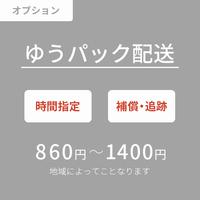 ゆうパック配送(860円〜1,400円)