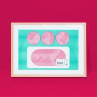Art print|ハムの惑星#2 フレームなし