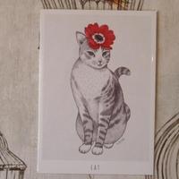 Talltreeさんのイラストカード(動物)全6種
