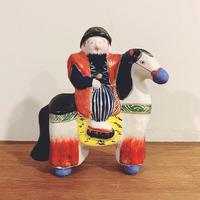 中野土人形の『馬乗り唐人』