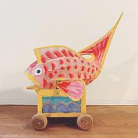 出雲大社の灯玩具『鯛車』