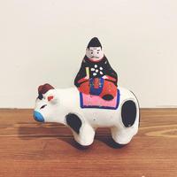 高山土人形の『牛乗り天神』