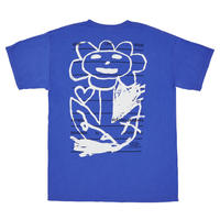 LOVE ART FREE TEE (BLUE)