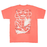 LOVE ART FREE TEE (ORANGE)