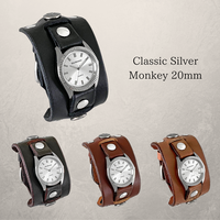 "Classic Silver ""Monkey 20mm"""