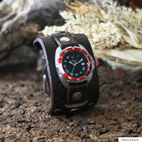 "Challenger Roman (Red Bezel) ""Monkey 20mm"""