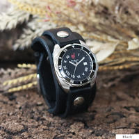 "Challenger Roman (Black Bezel) ""ORIGINAL 20mm"""