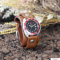 "Challenger Roman (Red Bezel) ""ORIGINAL 20mm"""
