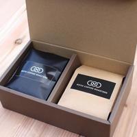 《送料無料》日本一の焙煎人がお届けする旬のスペシャルティコーヒーおすすめギフトセット (200g入×2本)