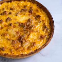 ストア限定‼ チーズ屋さんの黒毛和牛ミートソースキッシュ 2台セット(送料無料)