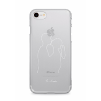 iPhone case(kiss)White
