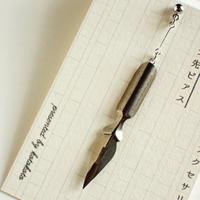 古いペン先ピアス #17