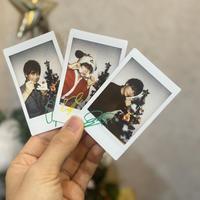 大川義秋と過ごすクリスマスチェキ3枚セット!