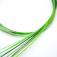 水引素材(絹巻、花水引)緑系 10本セット
