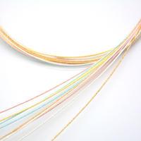 水引素材(羽衣、プラチナ)10本セット