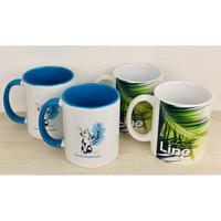 【マグカップ4点セット】Lino(2個)&羽ねこ(2個)