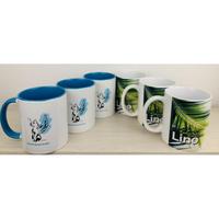 【マグカップ6点セット 】Lino(3個)&羽ねこ(3個)