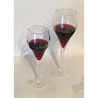 【おうち時間を爽やかに!】いろは・ひふみ曼荼羅ワイングラスセットM2個(口径:53㎜(最大径:65㎜)×高さ:198㎜ 容量:160㏄、化粧箱入り、20セットのみ)