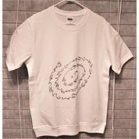 """Tシャツ """"いろは・ひふみ曼荼羅""""  女性用(フリーサイズ)"""