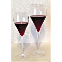 【おうち時間を爽やかに!】いろは・ひふみ曼荼羅ワイングラスS2個(最大径:56㎜ 口径:45㎜×高さ:171㎜ 容量:95㏄、化粧箱入り、20セットのみ)