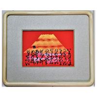 「富士赤光」直筆書画:額入(額サイズ:縦270㎜×横330㎜×奥行30㎜)