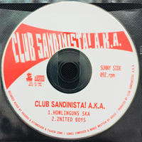 CLUB SANDINISTA!A.K.A / HOWLINGUNS SKA (CDR)