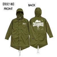 【限定1着】Kousaがライブで着用したモッズコート (サイン入り)