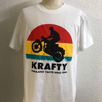 KraftyOriginal 『RISE』-T WHT