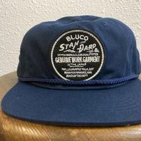 BLUCO ROPE CAP STAMP LOGO NVY