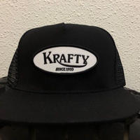 KRAFTY x BLUCO MESH CAP BLK