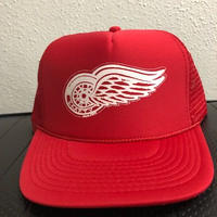 Krafty Wing Wheel Mesh Cap RED