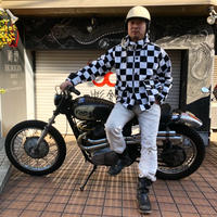 B.W.G PATCHWORK CHECKER TOURING JKT 限定50着入荷!!残り僅か!!