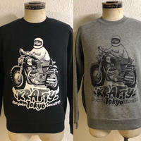 Adam Nickel x KraftyTokyo【THE MONSTER】CREW NECK SWEAT
