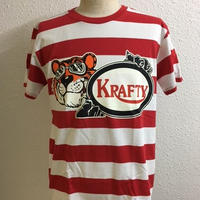 New KraftyTiger Border T RED/WHT