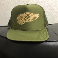 Krafty Wing Wheel Mesh Cap OLIVE