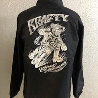 Magical Design Presents KraftyTokyo 20th Anniversary Coach Jkt BLK/WHT