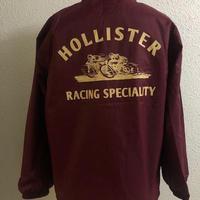 HMC SKULL DIRT RACER COACH JKT BURGUNDY